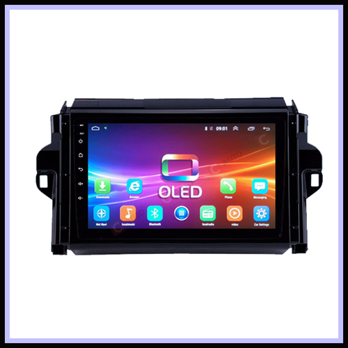 DVD Ô TÔ Android OLED 9inch xe Toyota Fortuner 2016-2018 Cắm sim 4G