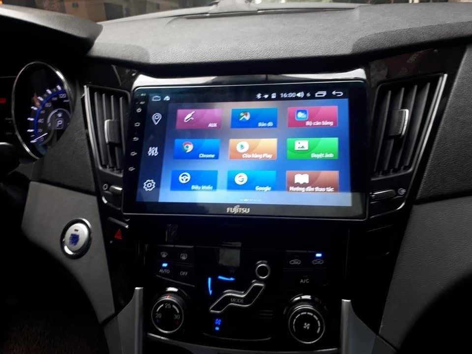 Màn hình Android Fujitsu xe Hyundai Accent