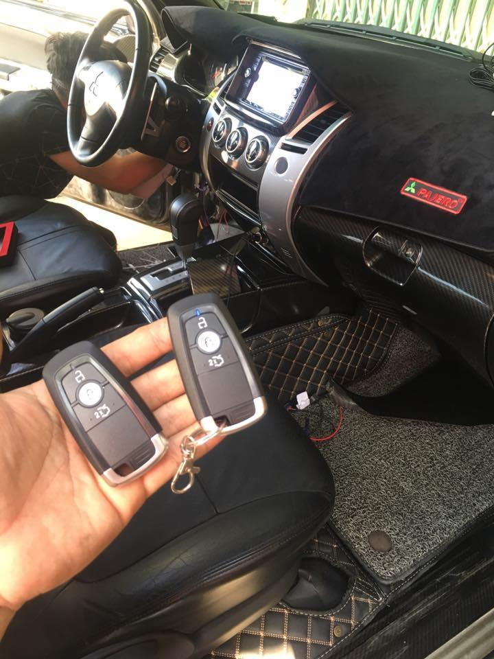 SMART KEY CHO PAJERO SPORT